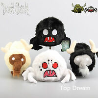 Don't Starve Beefalo The Caw & Spider Plush Toy Soft Doll Black & White 10'' 8''
