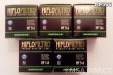KYMCO K-XCT 125/300 ie (2012 à 2016) FILTRE À HUILE (HF566) Pack de 5
