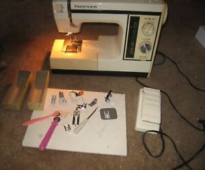 Vintage Kenmore Sewing Machine With Foot Pedal 385.1695180