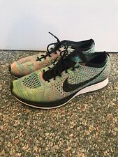 Nike Flyknit Racer Multicolor 2.0 Size 9 Mens Running Shoes