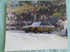 Opel Rallying photo brochure c1983 by Foto Don No 19