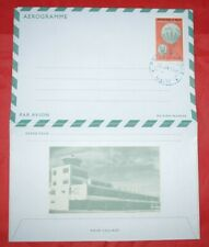 MayfairStamps Haiti 1989 Hot Air Balloon Unaddressed Postal Stationery Aerogramm