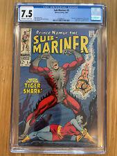 Sub-Mariner #5 (1968) CGC 7.5 1st Tiger Shark