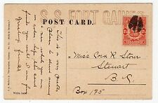 More details for panama: picture postcard to canada with ship's cachet (c12171)