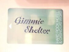 Hard Rock Casino Las Vegas Gimmie Shelter Logo Room Key Great For Collection!
