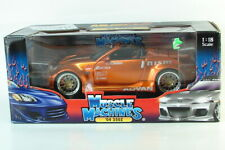 Nissan 04 350Z Muscle Machines Muscle Tuners 1 18 Orange / Copper Whips 350 2004
