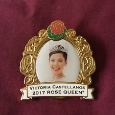 Tournament of Roses 2017 Rose Queen Victoria Castellanos Cloisonné Pin