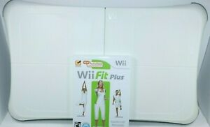GENUINE NINTENDO WII FIT PLUS BALANCE BOARD AND GAME TESTED WORKING RVL-021