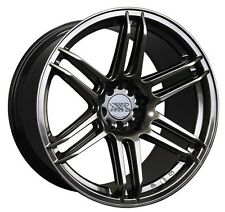 XXR 558 18X9.75 5x100/114.3 +36 Chromium Black Wheel Fits 350z G35 240sx Rx7 Tsx