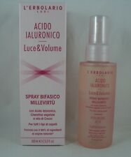 L'Erbolario Spray Biphase Millevirtù 100ml Hyaluronic Acid Frizz Protects