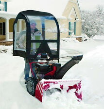 Deluxe Snow Thrower Cab For 2 stage Blower Craftsman Husqvarna Ariens Cadet Toro