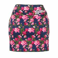 Womens Bloomers Golf Skort by Royal and Awesome Size 6 - 18 Floral Pink Skirt