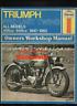 Triumph Pre-Unit Twins (47-62) 5T T100 6T T110 T120 Haynes Manual 500 650 CK48