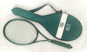 Rare LACOSTE LT 330 tennis racket with cover L4
