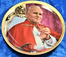 """Pope John Paul Ii Collection Virtuous Leader Collector Plate 8"""" numbered"""