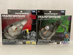 Takara Tomy Transformers Device Label Grimlock Dinosaurer Mouse Set