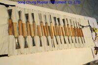 30pcs ASSORTED LOT WOOD CARVING TOOLS,Chisel #6243