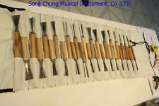 30pcs ASSORTED LOT WOOD CARVING TOOLS,Chisel #6243