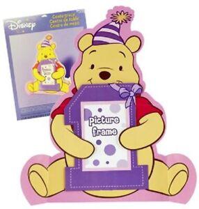 Winnie the Pooh First Birthday Photo Centerpiece Brand New-