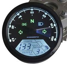 12000 RMP kmh Universal LCD Digital Odometer Speedometer Tachometer Gauge LED