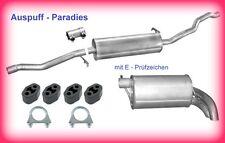 Abgasanlage Auspuff Schalldämpfer VW Sharan 1.9 TDi 130 & 150PS Typ 7M8/9/6 +Kit