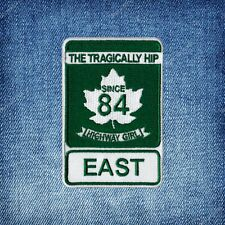 The Tragically Hip | Unofficial | Highway Crest | Iron-on Patch