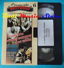 VHS film IL POSTINO SUONA SEMPRE DUE VOLTE Lana Turner Garfield 6(F77*) no dvd