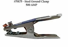 ONE 500 AMP Steel Ground Clamp-Heavy Duty 70175
