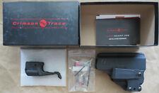 Crimson Trace Ll-803-Hbt-G43 Laser/Light/Iwb Holster Glock 43 Only 9mm Ll803-G43