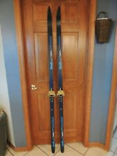 trak tremblant nowax 185 cm Cross Country Skis with troll bindings. Excellent!