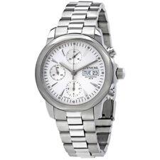 Enicar Elite Black Dial Automatic Mens Chronograph Watch 3168/50/317ACMA