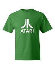 Atari Classic Retro Video Game Logo Adult T Shirt SM-5XL