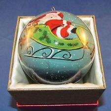 Pier 1 Imports - 2015 - Li Bien Christmas Ornament - Santa's Sleigh - NEW