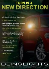 Dodge Durango LED Side View Mirror Turnsignal Lights Stick-on Overlays Kit