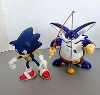 VTG 2000 Sonic The Hedgehog Adventure & Big the Cat Figure 5 inch Rare Sega