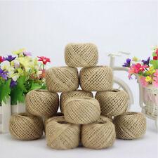 1 Roll 30M Natural Brown Jute Hemp Rope Twine String Cord DIY Craft Making Decor