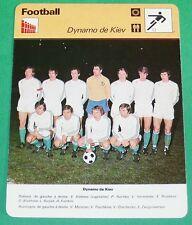 FOOTBALL DYNAMO KIEV URSS CCCP BLOKHIN KOLOTOV 1976 1977
