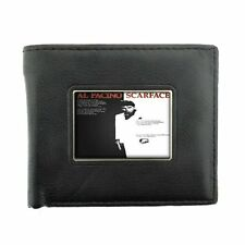 Scarface Black Bifold Leather Wallet Classic Logo D 260