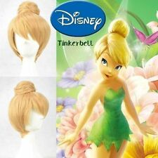 Disney Tinker bell Blonde Style Cosplay Wigs Cos Wig