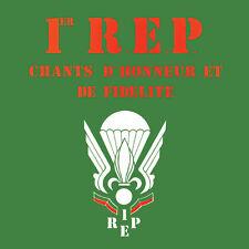 CD 1er R.E.P. : Chants d'honneur et de fidélité - Musique Militaire