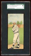 1911 T201 MECCA CHRISTY MATHEWSON / ALBERT BRIDWELL SGC 40  VERY NICE LOOKING