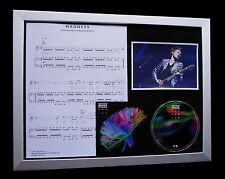MUSE Madness LIMITED TOP QUALITY MUSIC CD FRAMED DISPLAY+FAST WORLD SHIP+2nd LAW
