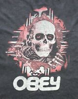 OBEY X POWELL PERALTA LTD VTG BONES BRIGADE RIPPER BLACK SIZE L MADE USA