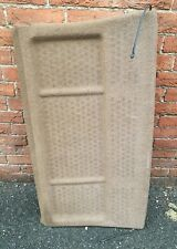 VOLKSWAGEN GOLF MK2 PARCEL SHELF IN TAN BROWN GENUINE WITH NO SPEAKER HOLES