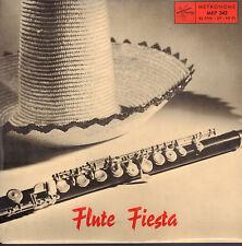 """ROLF BLOMQUIST - Flute Fiesta (1958 JAZZ VINYL EP 7"""" SWEDEN)"""