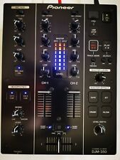 Pioneer Djm 350, SERVICED, MODED AS LIMITED USB rec/play 2ch Dj Audio mixer