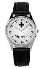 Veteran Soldat Geschenk Fan Artikel Zubehör Fanartikel Uhr B-1129