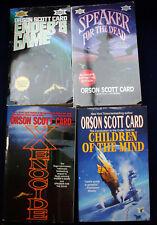 Orson Scott Card Enderverse Ender's Game Speaker Xenocide Children of the Mind