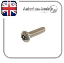 Resistorx/Security/Torx Pin Machine Screws Pan Head A2 Stainless Steel