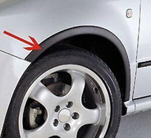 FORD FIESTA 6 MKVI wheel arch trims Matt Black 4 pcs Wings & Quarter styling kit